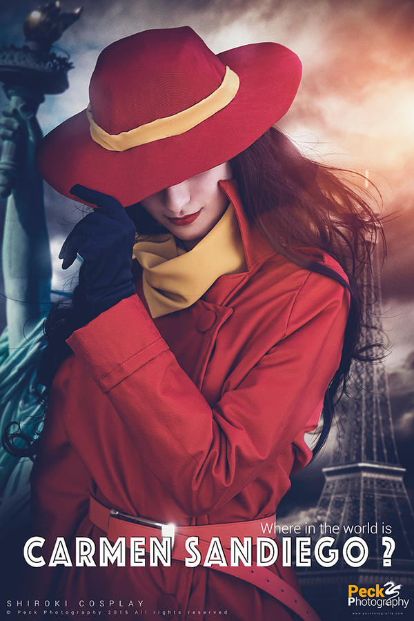 Carmen Sandiego - Where is she? by Shirokii