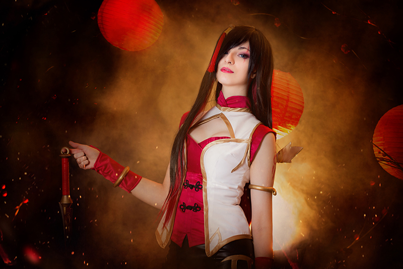 Katarina Warring Kingdoms III- League of Legends by Shirokii