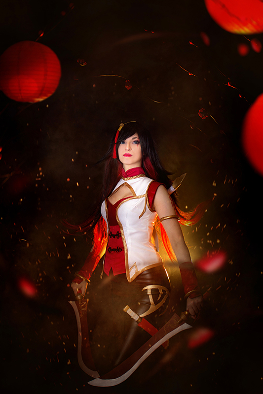 Katarina Warring Kingdoms V - League of Legends by Shirokii