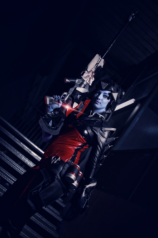 Noire Widowmaker - Overwatch  II by Shirokii