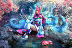 Spirit Blossom Ahri Cosplay - League of Legends
