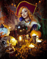 Miss Fortune Bewitching  League of Legends Cosplay