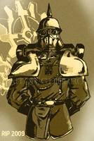 steampunk soldier by AitorGHierro