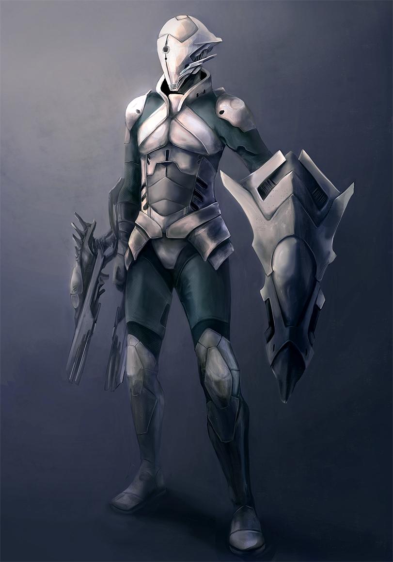 Ex Vitro Character Concept by Torerane