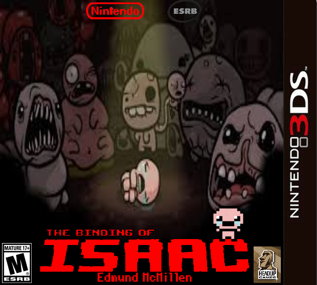 The Binding Of Isaac (3DS) Cover Art By ImAvalible1 On