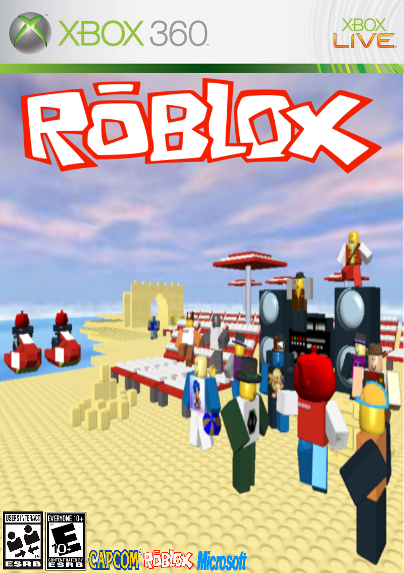 Roblox Xbox360 Game Cover Concept By Imavalible1 On Deviantart