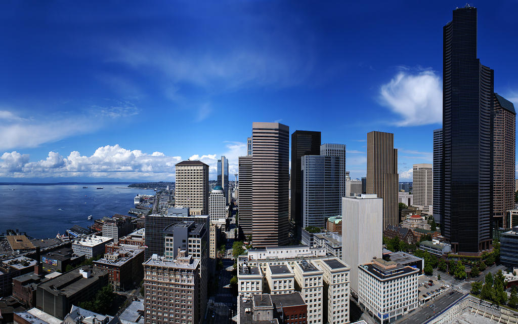 Seattle by IvanAndreevich