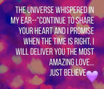 Universe Whispers...