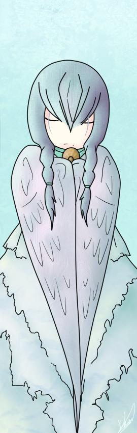 Les dessins de Showel - Page 3 Bookmark_angel_v1_by_zigzamew-d5atv0h