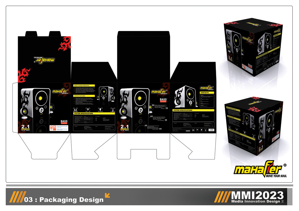Mahafier - Packaging Design by chuinhao10