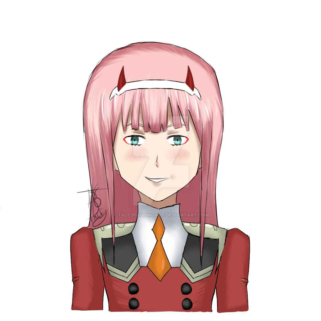 Anime Girl Zero: Zero Two By TalesPaulinoART On DeviantArt