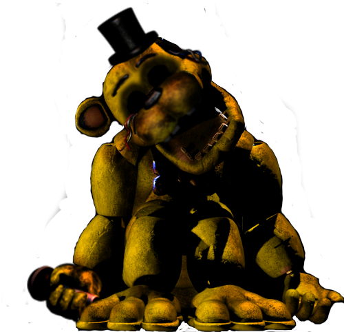 Withered Golden Freddy ( FNAF 1 ) by MutationFoxy on ...