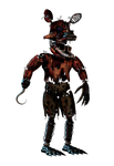 Nightmare Withered Foxy