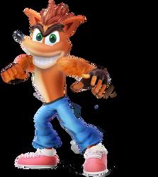 Crash Bandicoot by MutationFoxy