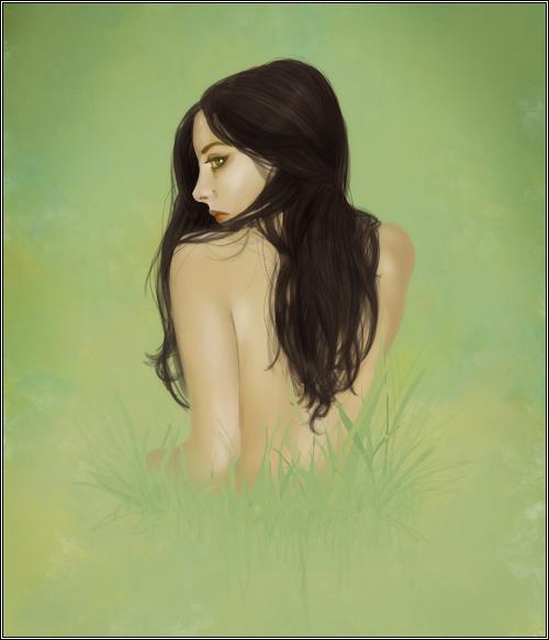Grass Girl by jezebel