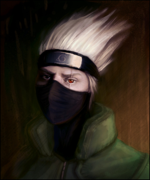 Kakashi Speedpaint by jezebel