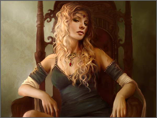 Cersei Seated