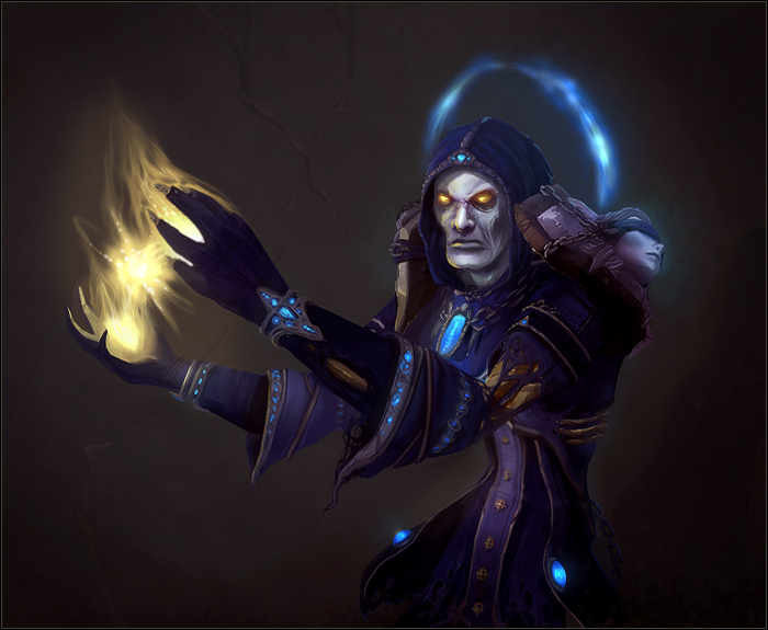 Фэнтези из World of Warcraft