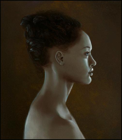 Sketchpaint Female Profile by jezebel
