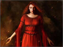 Melisandre of Asshai by jezebel