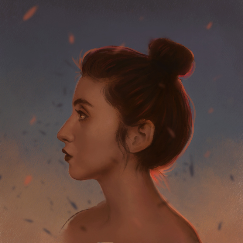 Portrait at Sunset by jezebel
