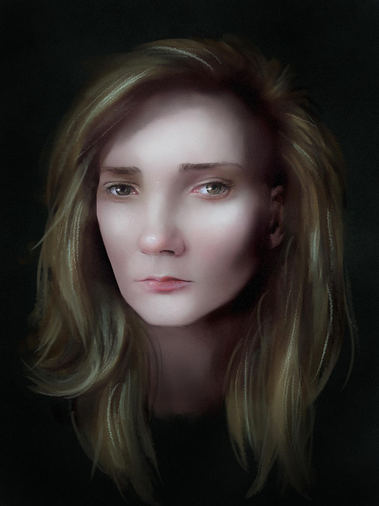 Reddit Girl Portrait Again by jezebel