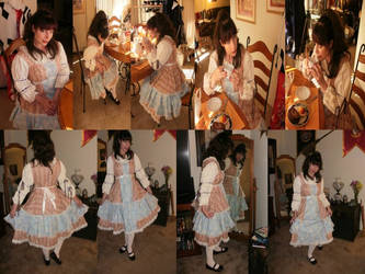 Tiered Lolita Dress MTO by racheldesade
