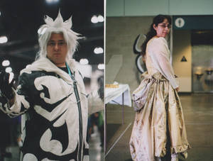 Xemnas  and the Victorian Dress
