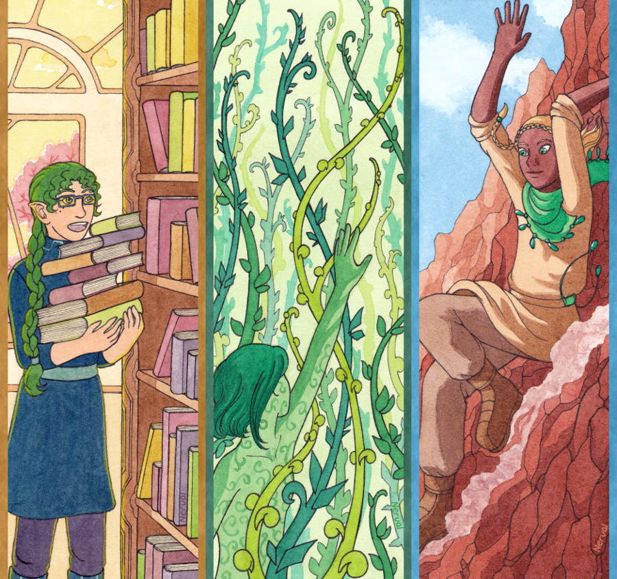 N.A.T. bookmarks by Neruall