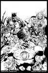 Green Lantern 62 cover INKED
