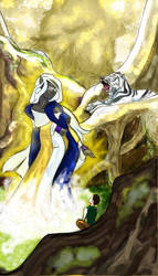 The Goddess by Evendar