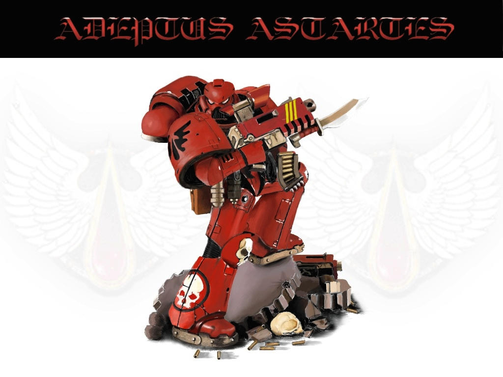 Warhammer: Blood Angels Marine by mikkow