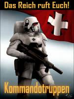 Das Reich Recruitment Poster by mikkow