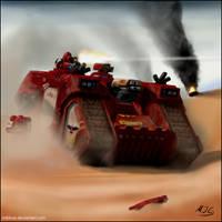 Warhammer: Blood Ravens by mikkow