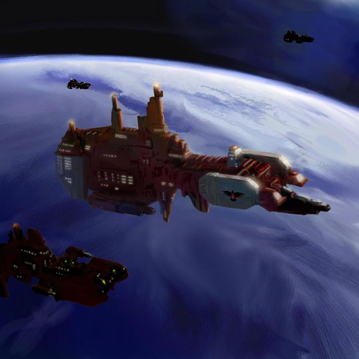 Warhammer: Strike Cruiser by mikkow
