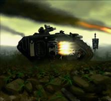 Warhammer: Black Templars by mikkow