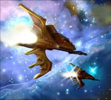 Warhammer: Hellebore Frigates by mikkow
