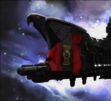 Warhammer: Inquisitor Ship by mikkow