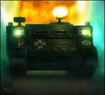Warhammer: Black Templar Rhino
