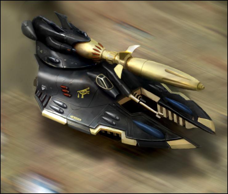 Warhammer: Uthwe Cobra Tank by mikkow