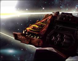 Warhammer: Revenge Battleship by mikkow