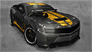 Death Race Camaro by Sammyp86