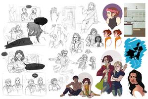 Sketchdump 17 by The-Troglodyte