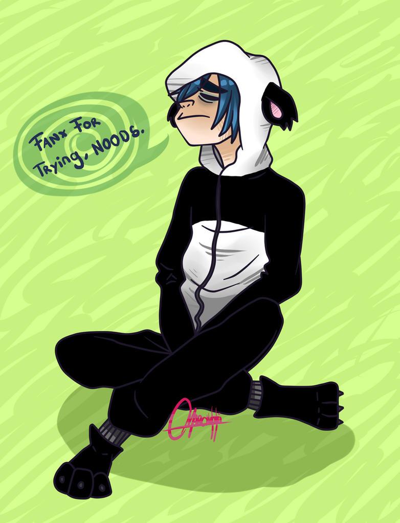 Depressed Panda 2D by KaruWorks