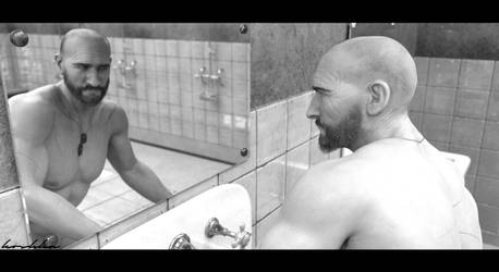 Facing the mirror. by koshnika