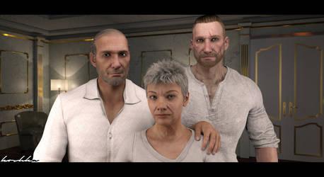 Sokolov family.