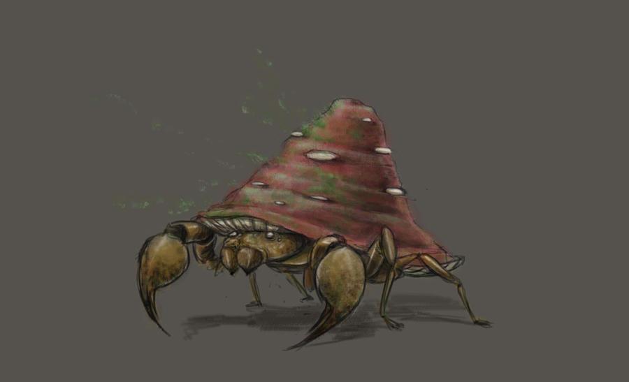 Parasect by Kokiri-kun
