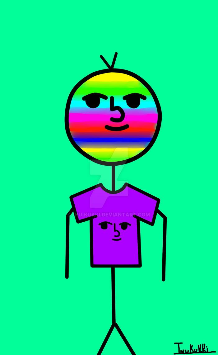 Cara Perve con Camiseta Perve by Inu-Kukki