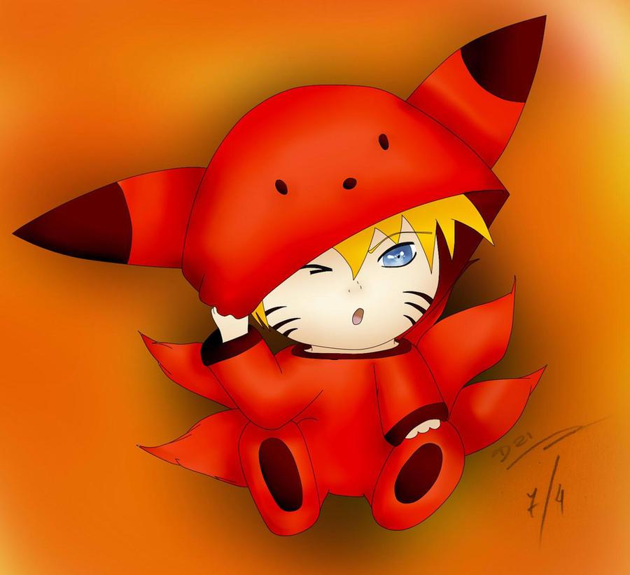 Naruto Baby Kyubi by ChibiDairacool on DeviantArt