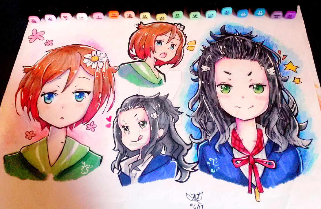 G Anime Character : Myaserenity amya lyles or mya deviantart